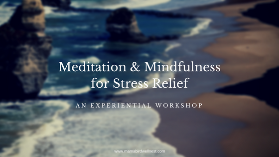 meditation and mindfulness for stress relief